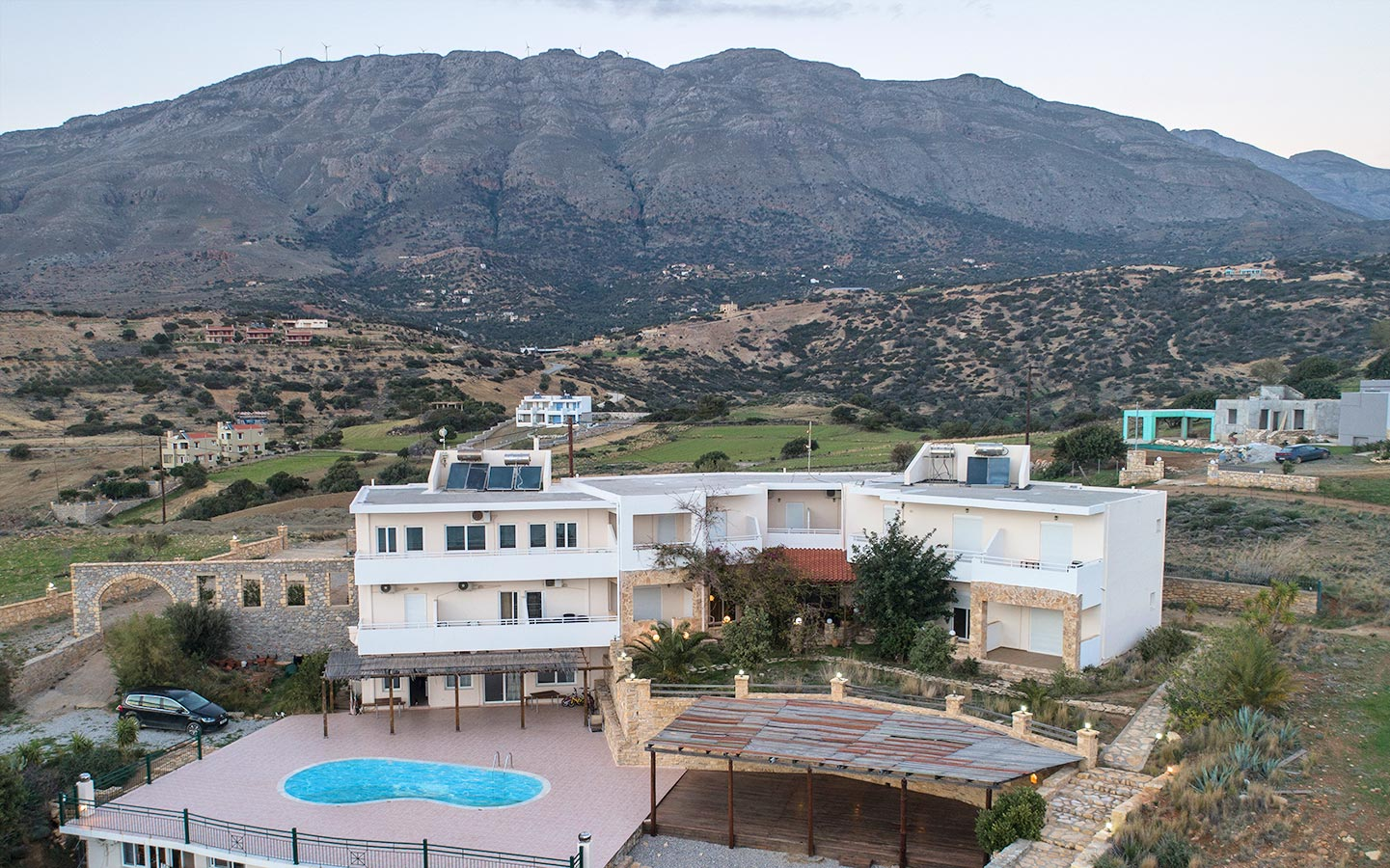 Hill of Calm Triopetra Crete Greece